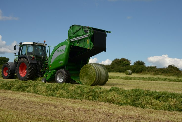 Bale from Raked Row