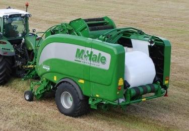 McHale Fusion Vario Variable Chamber Integrated Baler Wrapper