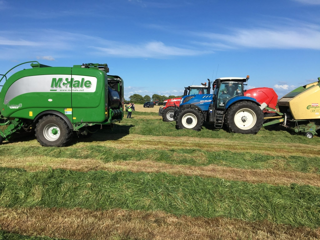 McHale Fusion 3 Plus leads the pack on the 32 County Bale Challenge