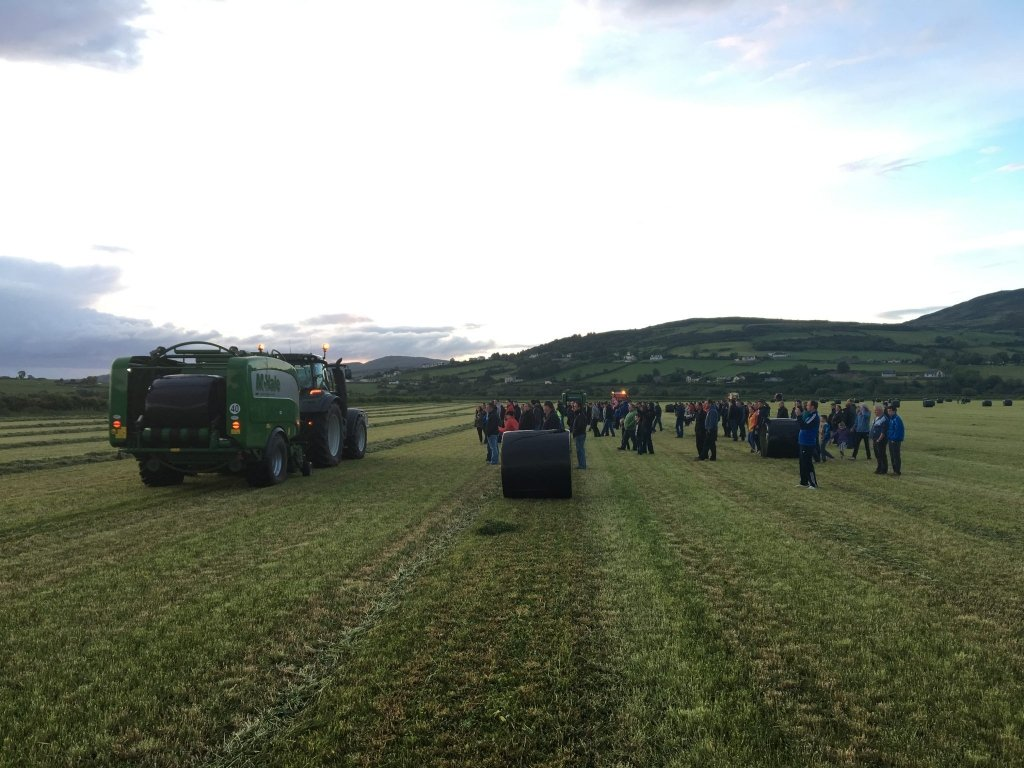 32 County Bale Challenge: Large crowds in Donegal to see the final stop on the journey.