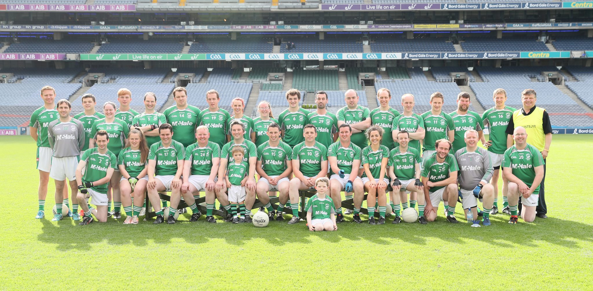 McHale Shamrocks Team